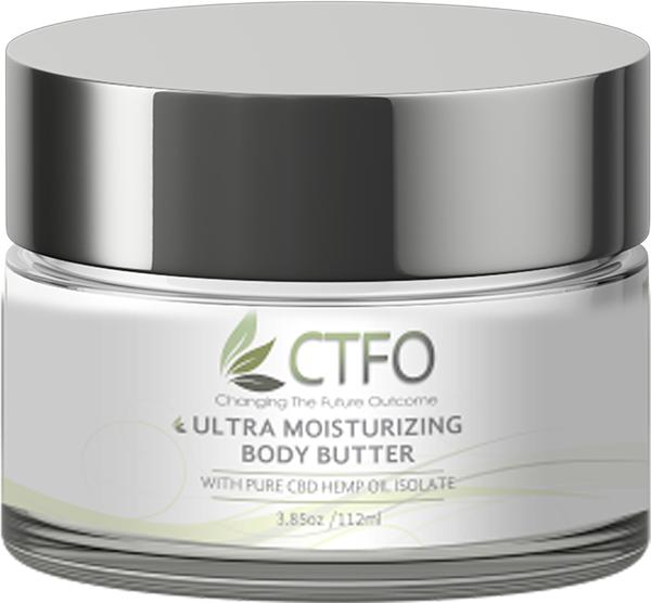 CBD Ultra Moisturizing Body Butter