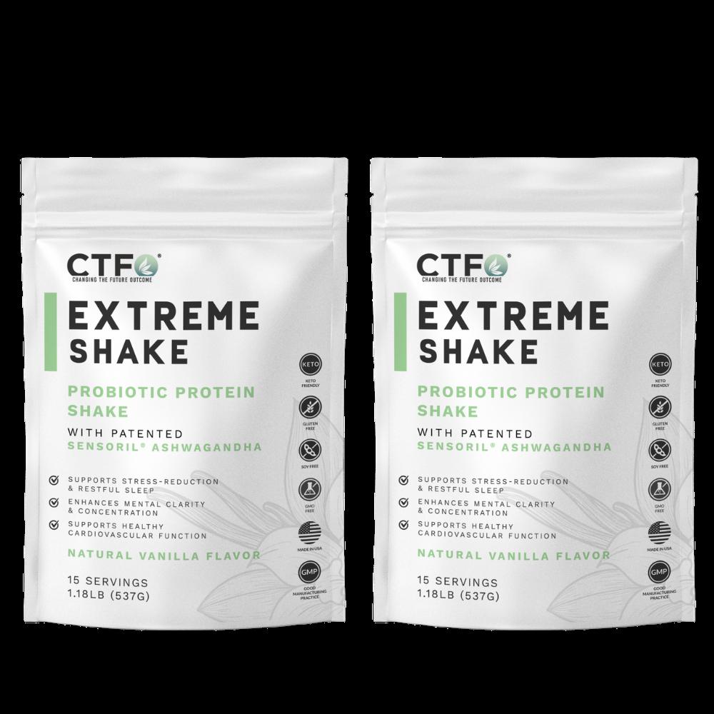 ExtremeShake 2 Pack - Vanilla