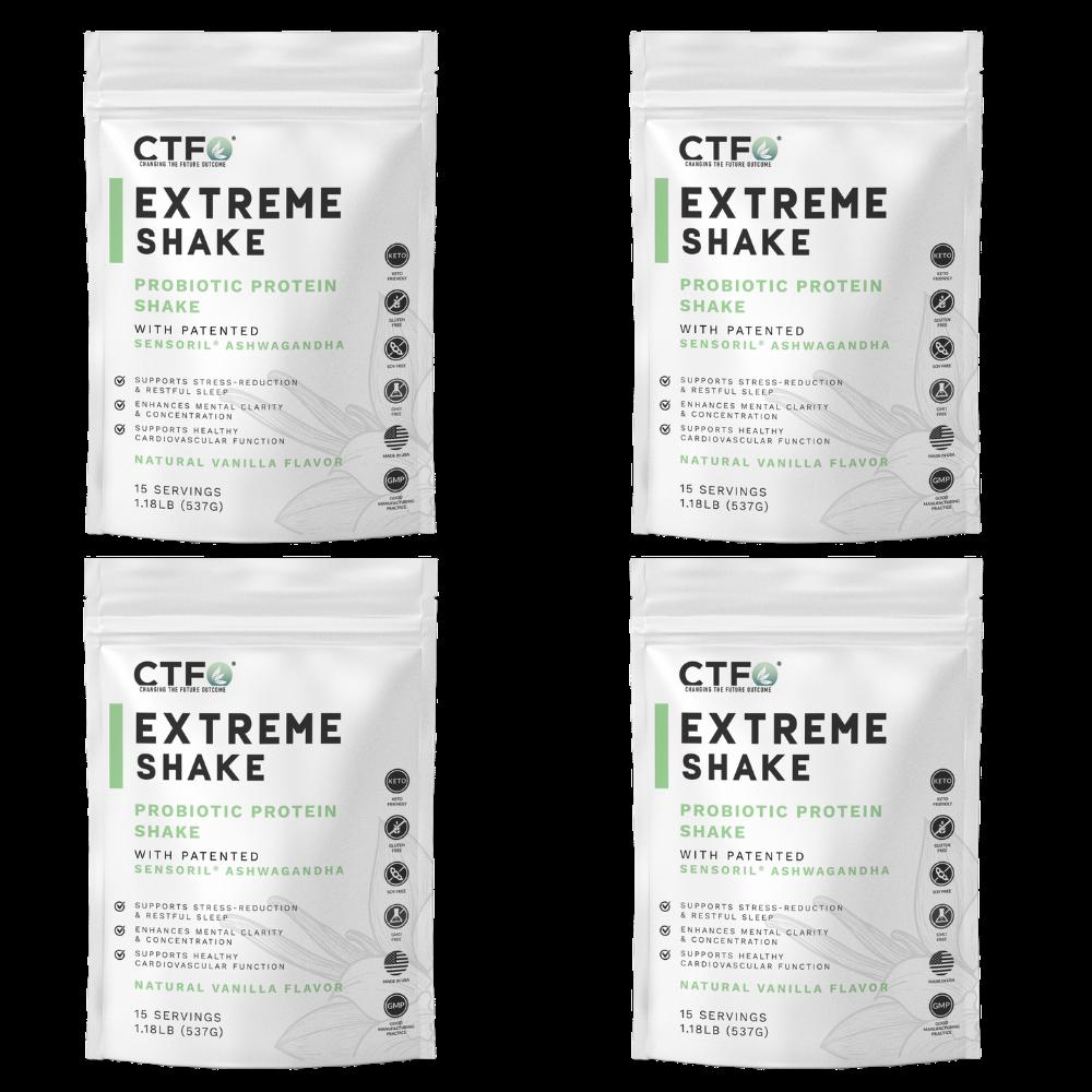 ExtremeShake 4 Pack - Vanilla