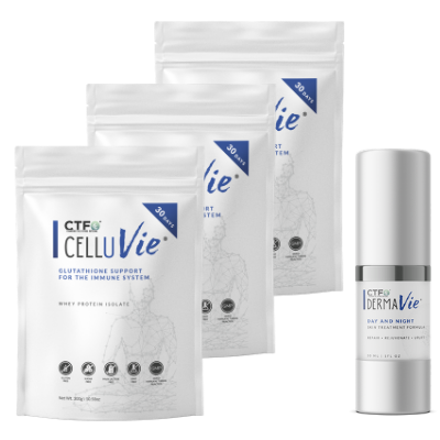 First 30 Days Detox Combo Loading Pack  -  3 CELLUVie® & 1 DERMAVie®