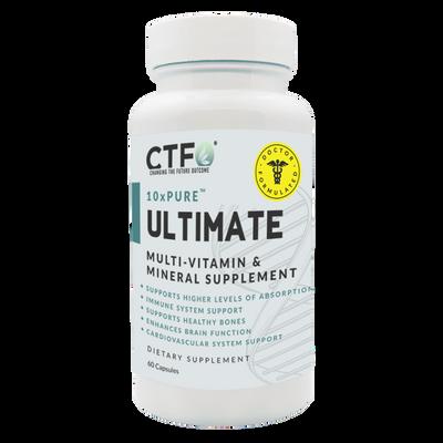 10xPURE™ Ultimate Multi-Vitamin & Mineral Supplement